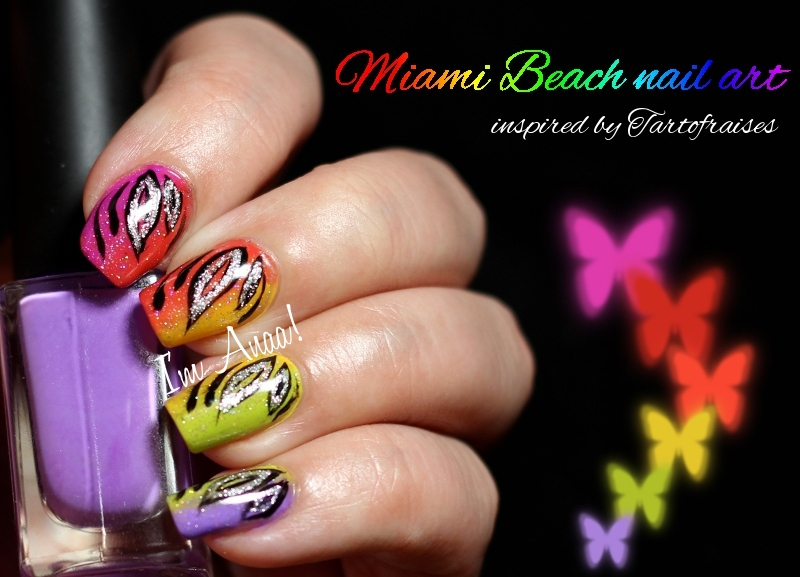 Exceptionnel Nail art miami ~ Beautify themselves with sweet nails IR11