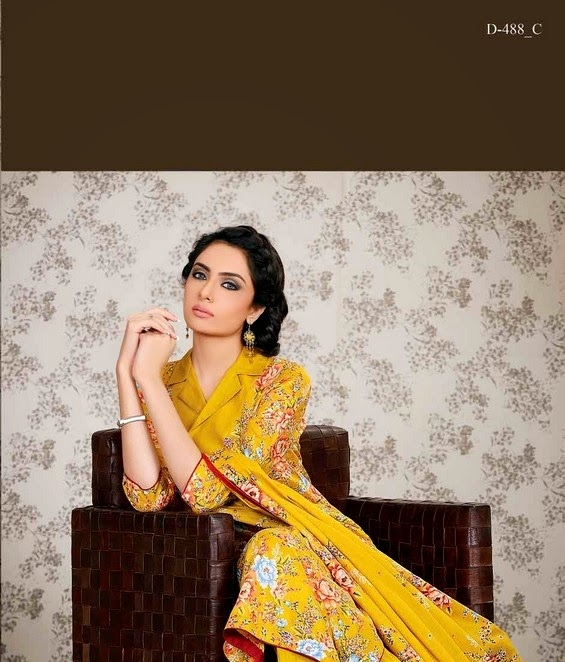Classic Lawn Collection 2014 Volume-4