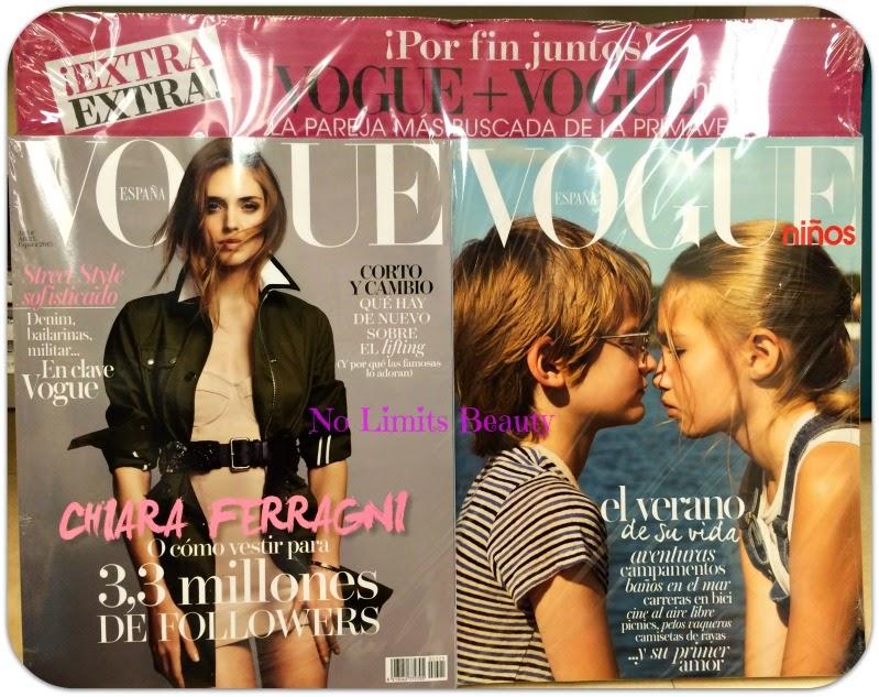Regalos revistas Abril 2015: Vogue