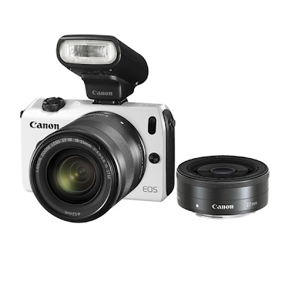 Canon EOS-M 18-55 Mirrorless Camera