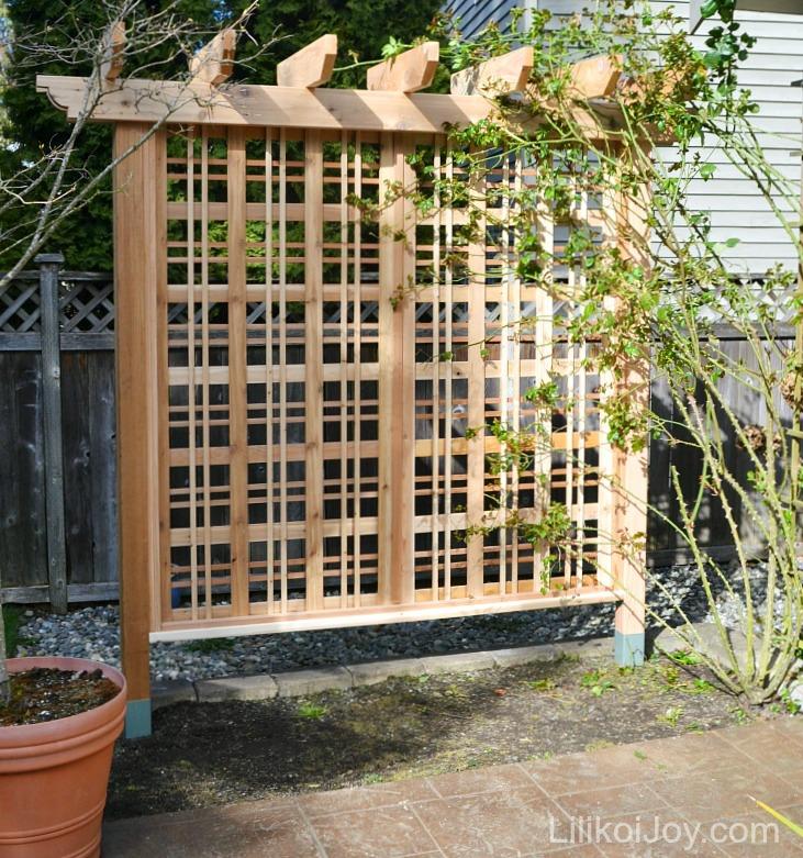 Pdf diy pergola trellis plans download pergola plans 12 x for Diy garden arbor designs