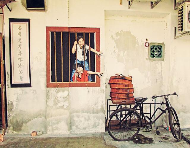 En Penang las paredes hablan