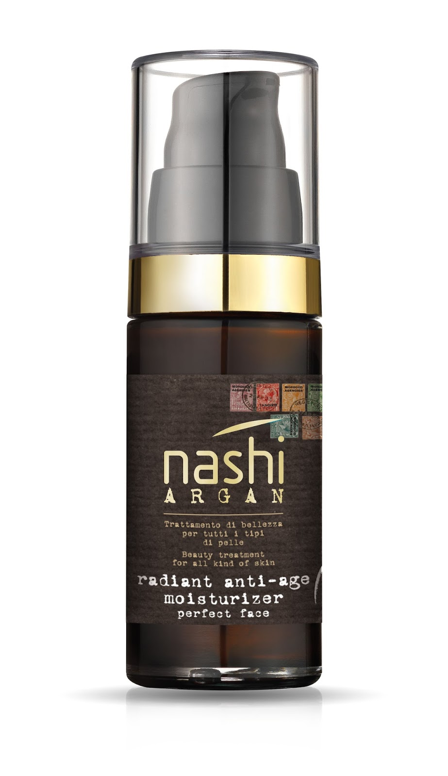Preview: Radiant Anti-Age Moisturizer Siero Viso - Nashi Argan