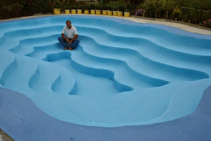 Custom Built Diy Swimming Pool Damn Cool Pictures