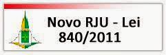 Novo RJU - Lei 840/2011