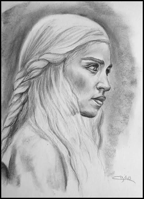 dessin khaleesi