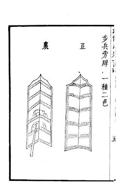 Wu Bei Zhi Ming Chinese Pavise