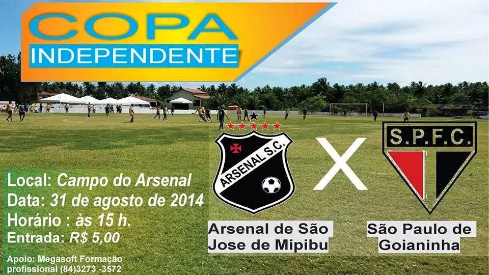 ARSENAL X SÃO PAULO DE GOIANINHA