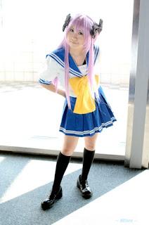 Lucky Star Kagami Hiiragi Cosplay by Hitachi Fuyuki
