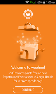 Woohoo app rs200 voucher