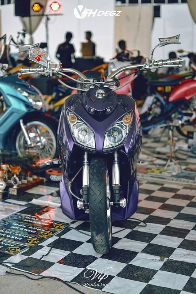 45 Foto dan Gambar Modifikasi Motor Matic
