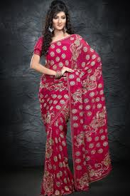 fabric saree