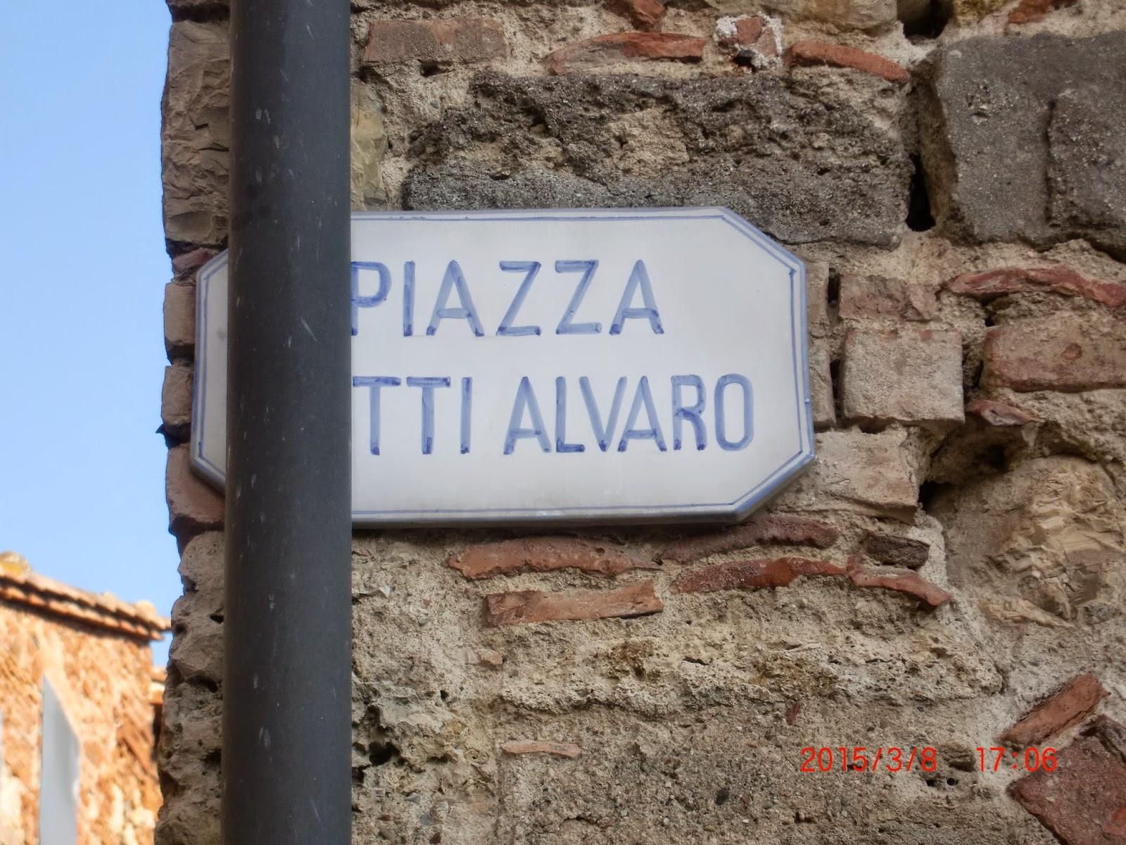 """Una piazza enigmatica di Belforte in realt si tratta di un eroico partigiano caduto in battimento Betti Alvaro nome di battaglia """"Ciocco"""" della XXIII"""