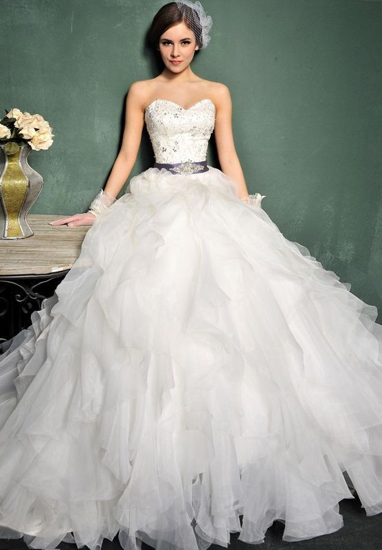 Elegant Ball Gown Wedding Dresses : Whiteazalea elegant dresses ball gown wedding dress