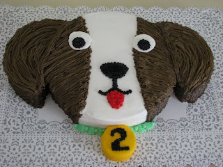 Puppy Dog Cake Recipe