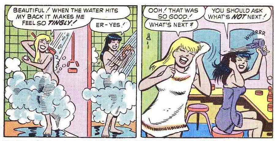 naked comic