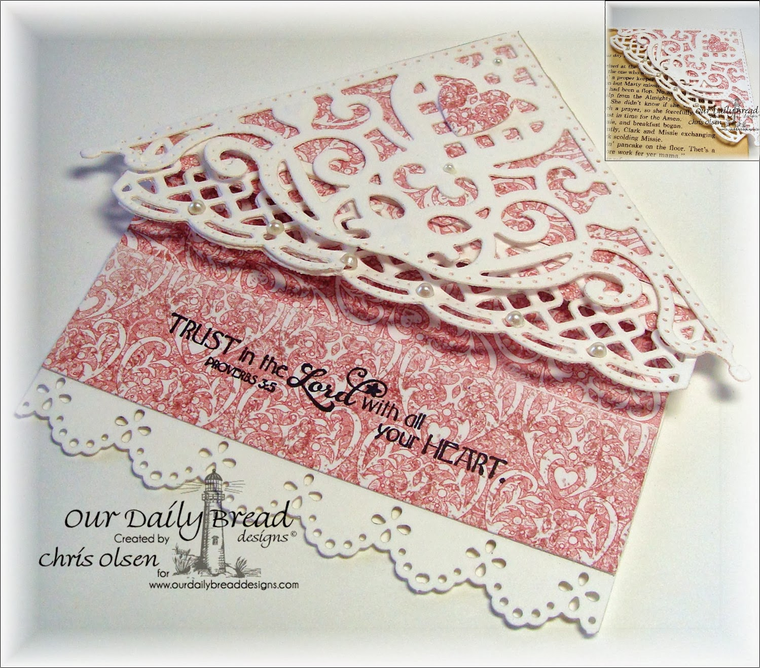 our daily bread designs, ODBD Decorative Corners, Ornate Hearts, Beautiful Borders, Clean Heart, Heart and Soul Collection, Chris Olsen
