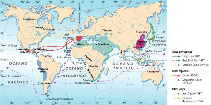 de los viajes de exploracion: