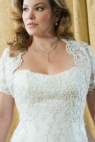 Lace Cocktail Dress on Tips To Choose A Plus Size Wedding Dress   Online Quick Shopping Store
