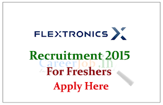 Flextronics Hiring freshers for the post of Associate Consultant