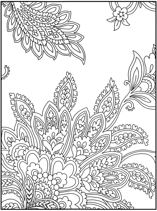 Coloring Pages For Grown Ups : Free coloring pages round up for grown ups rachel teodoro