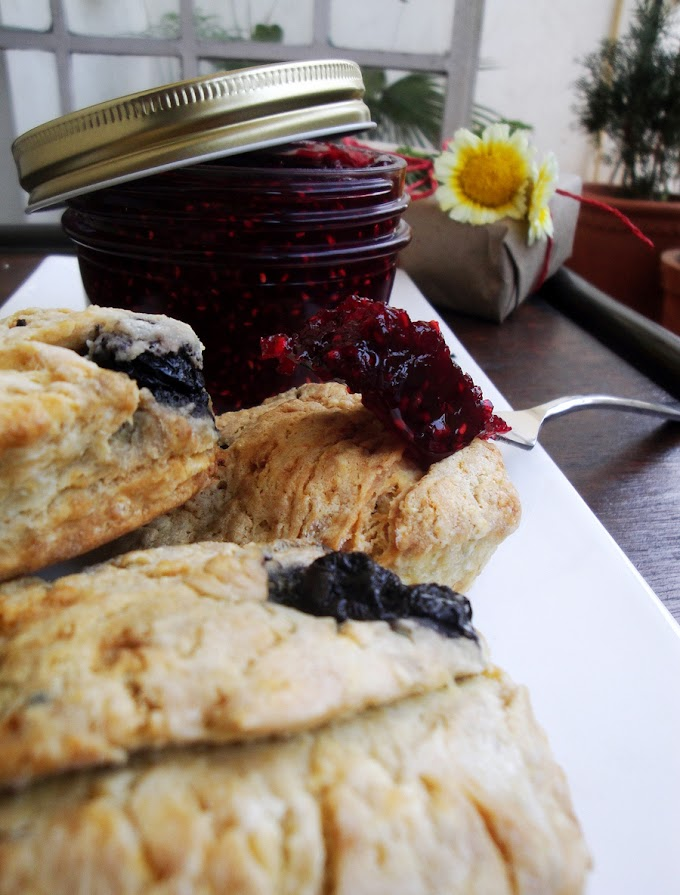 Blueberry scones and Enid Blyton memories
