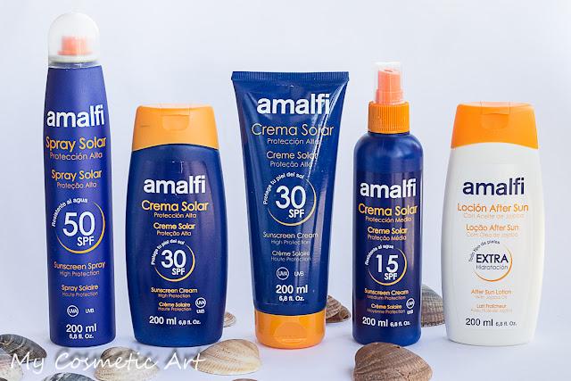 Protectores solares Amalfi