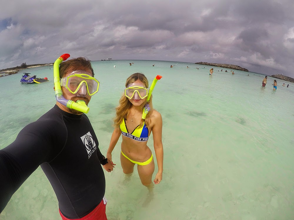 Snorkeling at Great Stirrup Cay