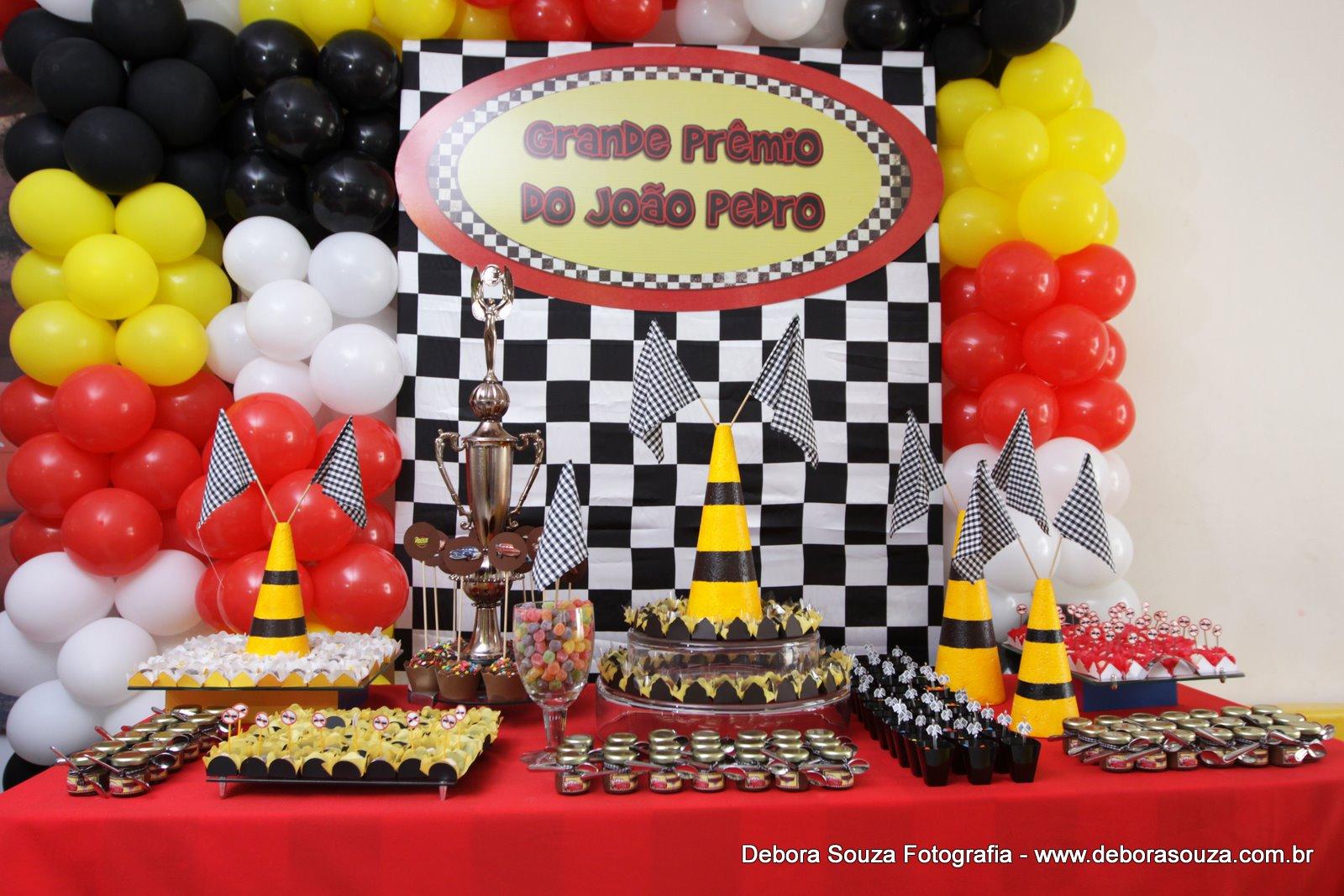 Festa Tema Carros  The Cars Party    Rel  Mpago McQueen