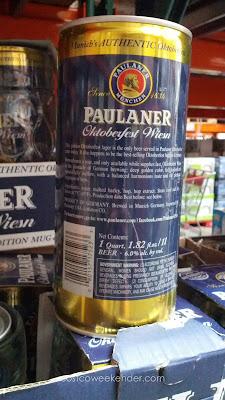 Paulaner Munchen Oktoberfest Wiesen Bier set includes 1 liter of beer and limited edition mug