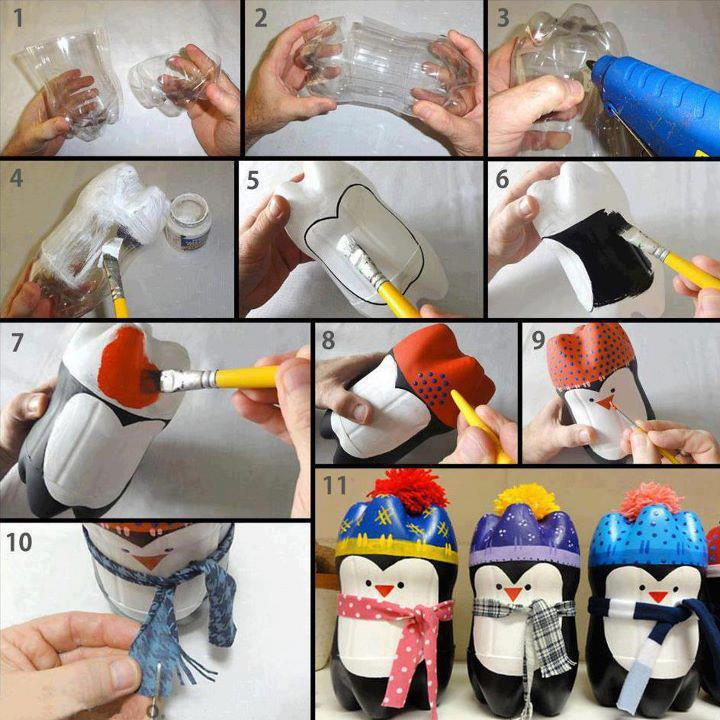 Crafts Out of Plastic Bottles