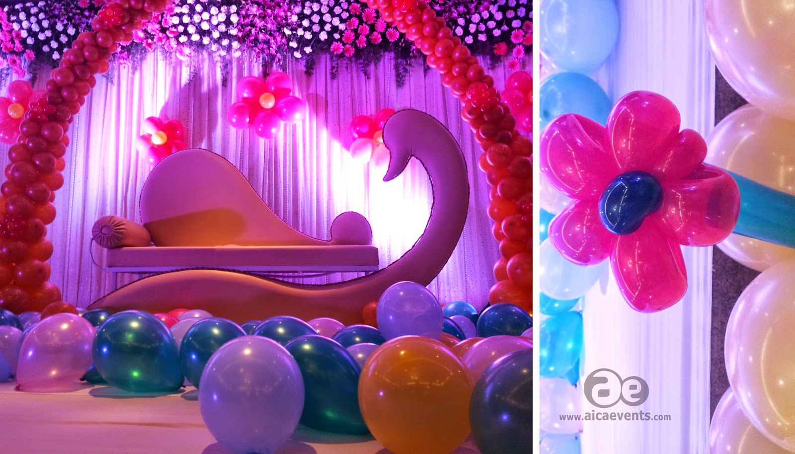 Aicaevents India Balloon Decorations for Birthday parties
