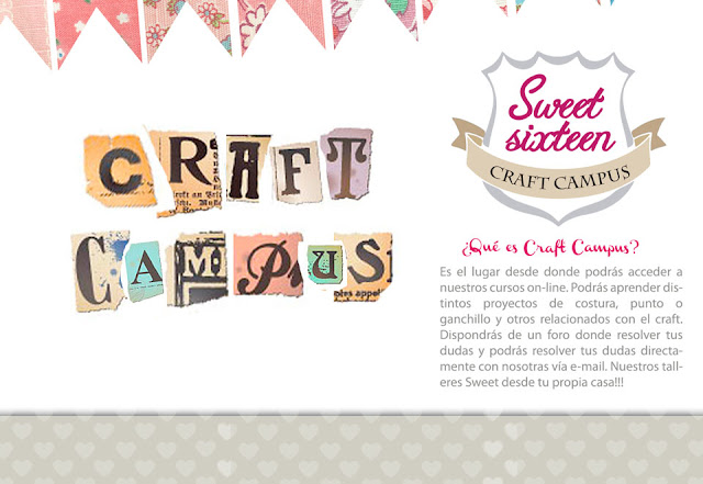 Sweet sixteen CRAFT CAMPUS