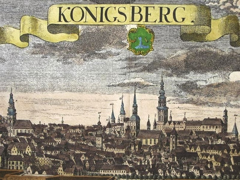 Königsberg im 18. Jahrhundert