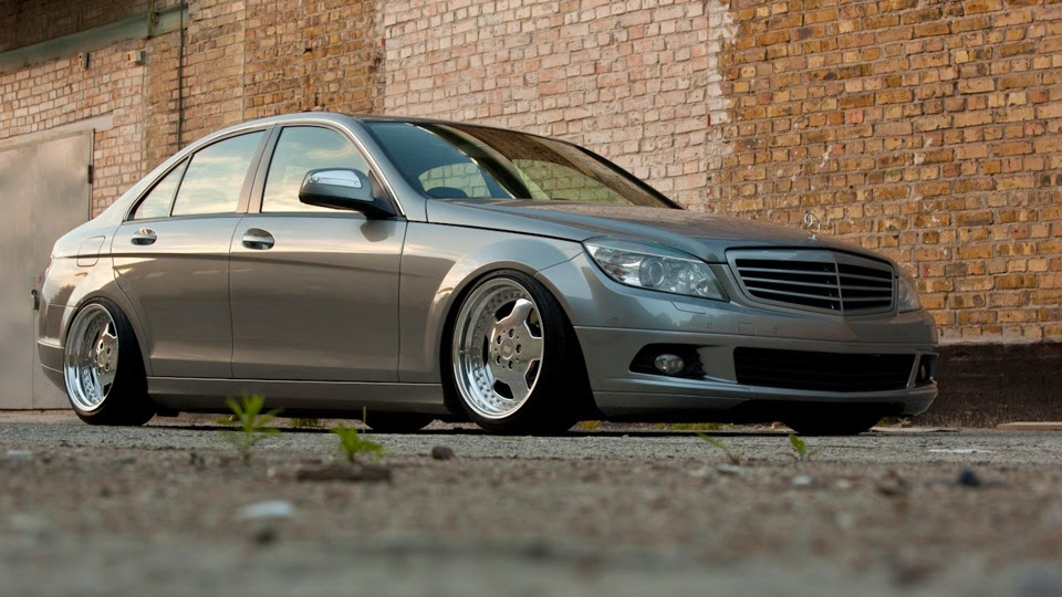 2007 mercedes benz w204 c180 stance benztuning. Black Bedroom Furniture Sets. Home Design Ideas
