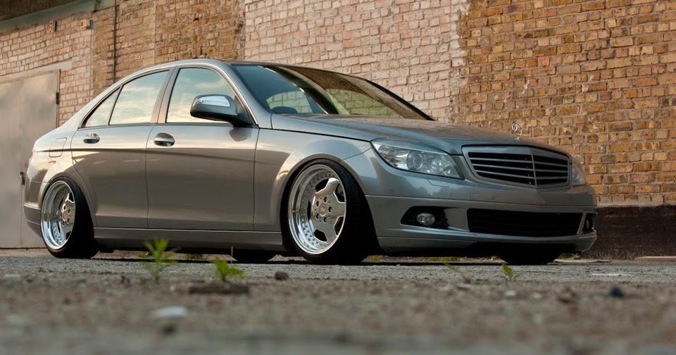 Brabus G Wagon >> 2007 Mercedes-Benz W204 C180 Stance   BENZTUNING
