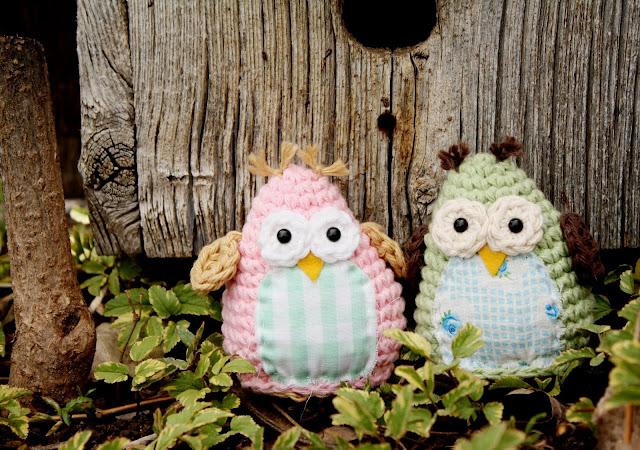 Amigurumi Owl Beak : bitOwhimsy: Simple and Sweet Owl Crochet Pattern