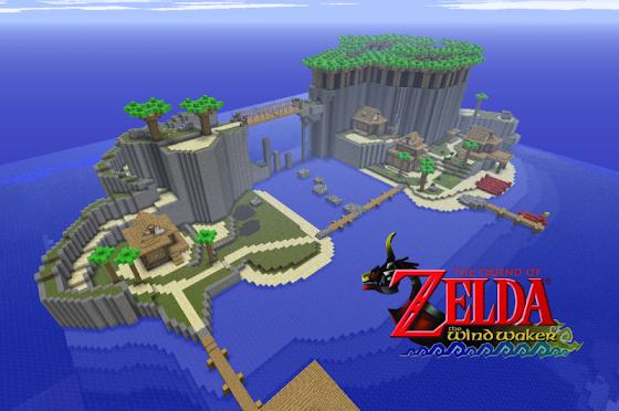 Zelda Wind Waker Minecraft