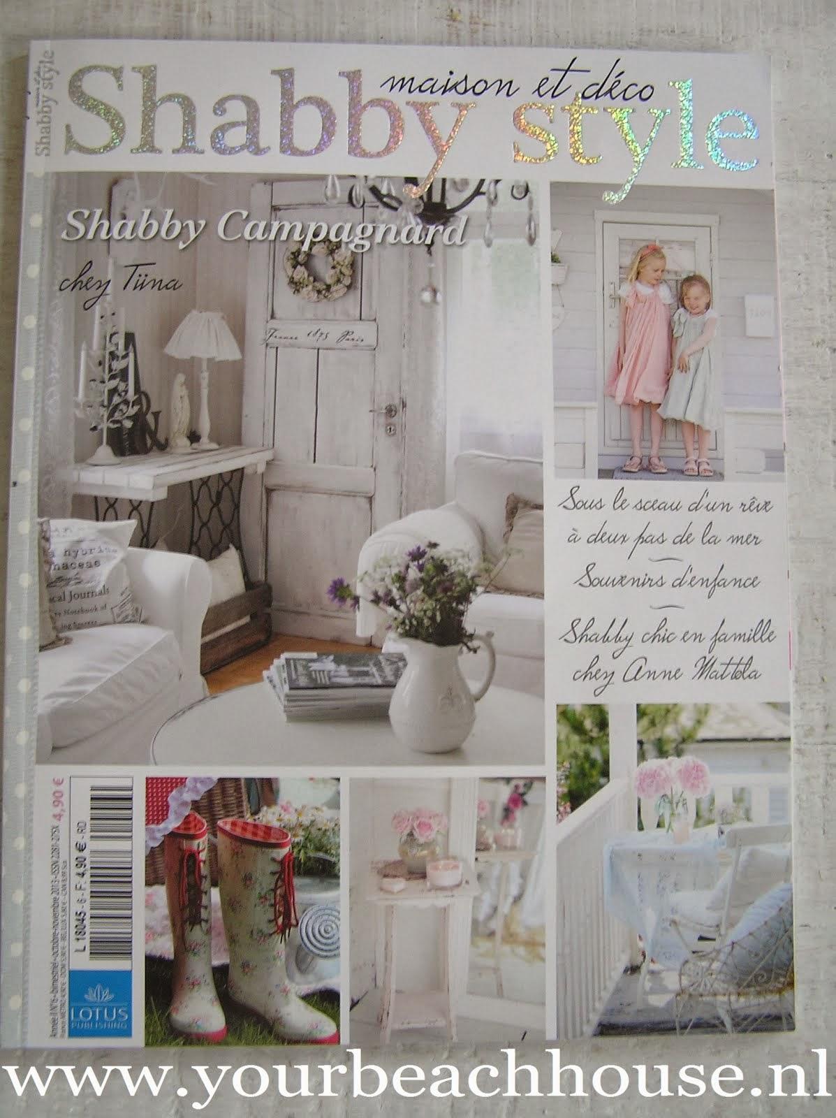 Binnenkijker Magazine Shabby style