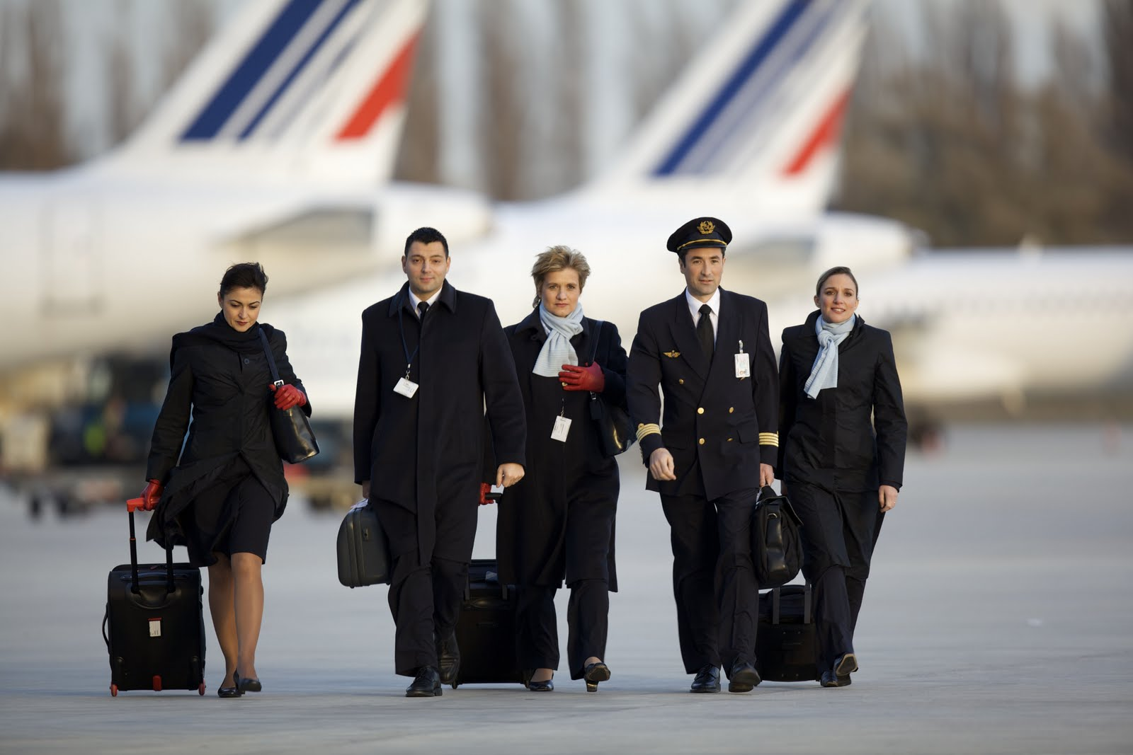 The Airline Air France And Official Cabin Crew Photos