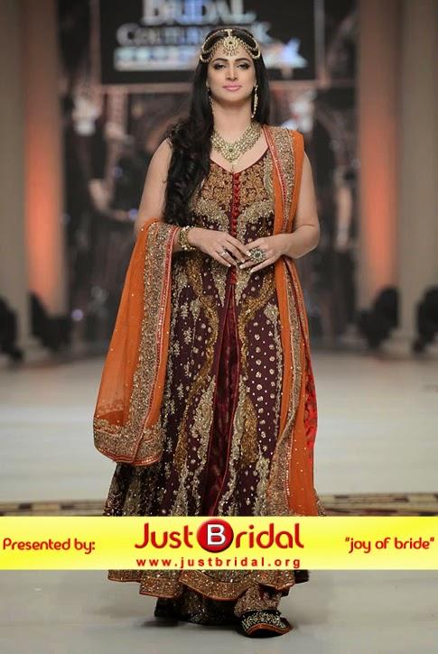Pakistani desi wedding dress designs