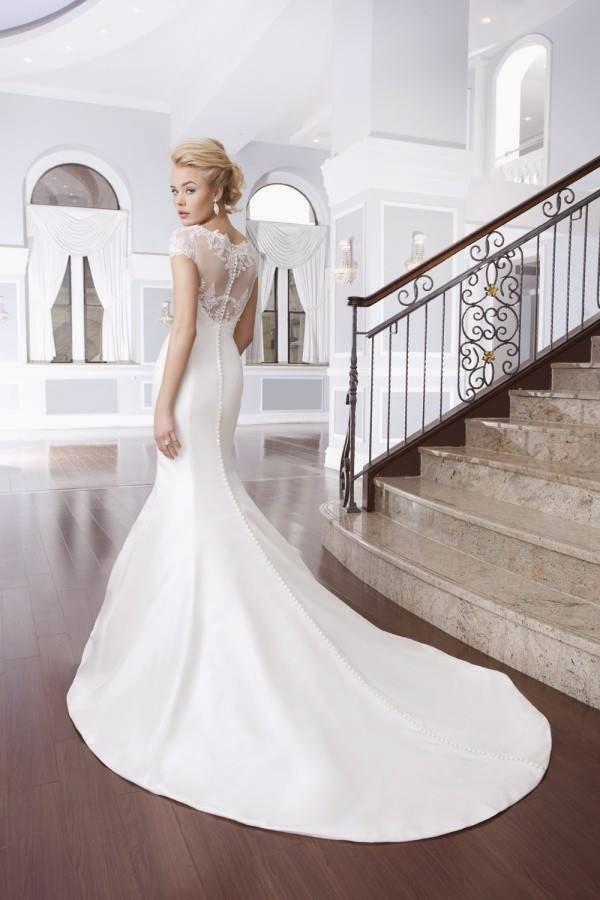 Amazing Fish Skirted  Long Wedding Dress