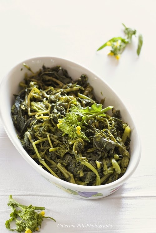 Cime di rapa all'olio extravergine di oliva