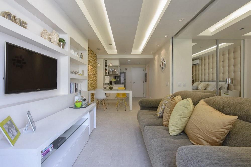 amenajari, interioare, decoratiuni, decor, design interior, din garsoniera in apartament de doua camere, plan deschis, living, usa glisanta, dormitor,
