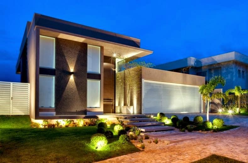 Fachadas de casas modernas casas sem telhado decorsalteado for Jazzghost casas modernas 9