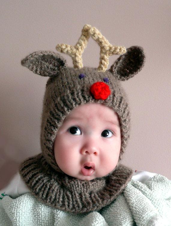 Gorros de estambres para bebés - Imagui