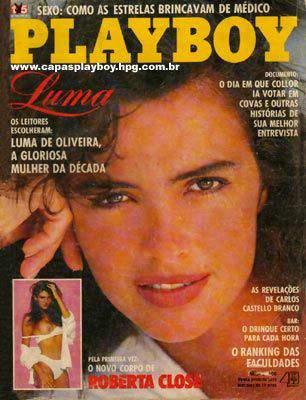 Luma de Oliveira - Playboy 1990