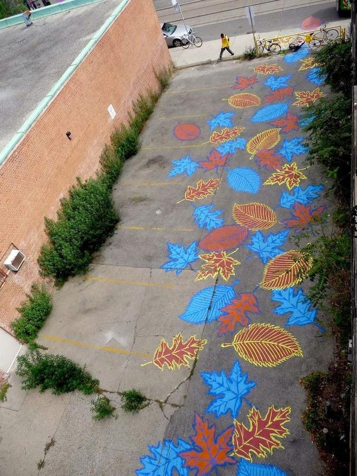 Street Art - Pintando sobre el Asfalto 29