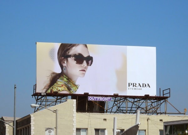 Prada Eyewear Spring 2015 billboard