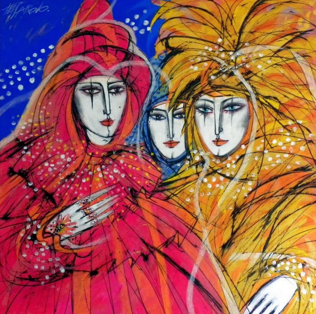 Cuadros modernos pinturas y dibujos pintura figurativa - Cuadros figurativos modernos ...